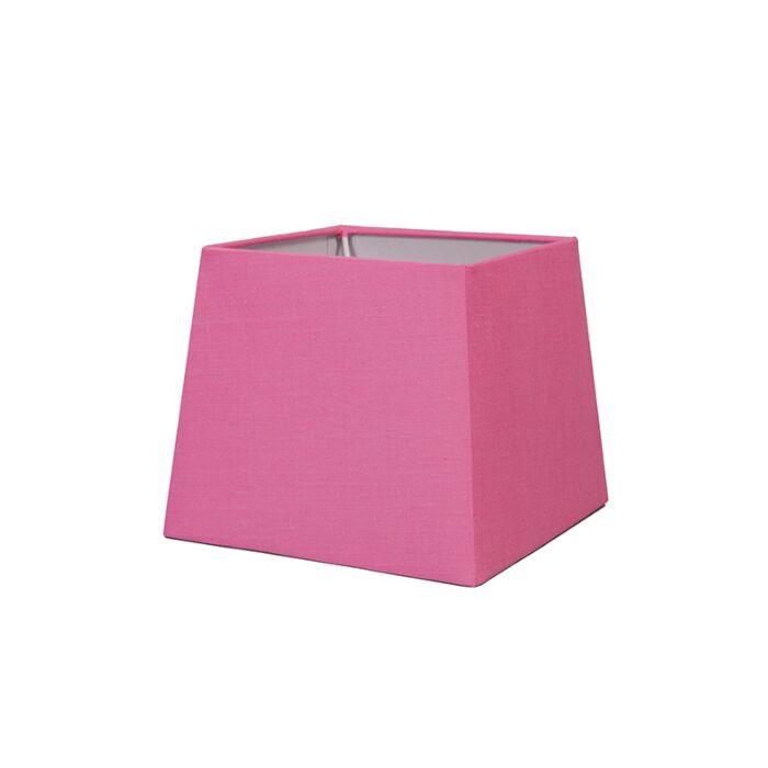 Lampskärm-'18cm-Q-SD-E27'-Nej-rosa/tyg-Passande-för-LED