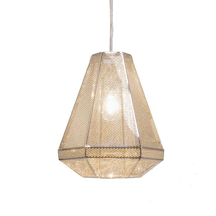 Taklampa-'Vince'-Design-krom/rostfritt-stål---Passande-för-LED-/-Inomhus