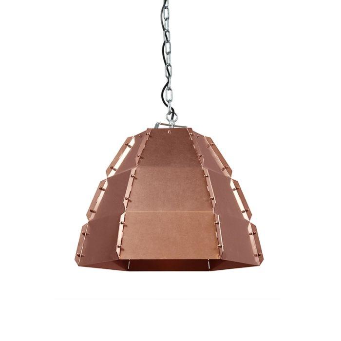 Taklampa-'HL-Niro'-Design-koppar---Passande-för-LED-/-Inomhus