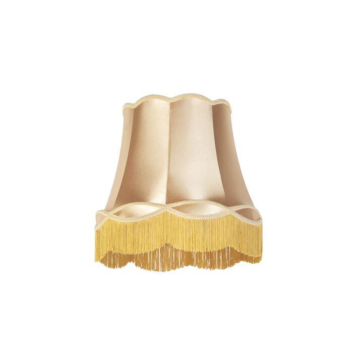Silk-lampskärm-guld-45-cm---Granny