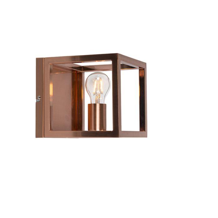 Vägglampa-'WL-Cage-1-koper-'-Moderna-koppar---Passande-för-LED-/-Inomhus
