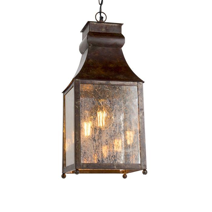 Taklampa-'HL-Agilan'-Lantlig-brunrost/metall---Passande-för-LED-/-Inomhus