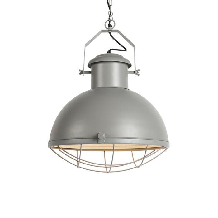 Taklampa-'HL-Engine'-Industriell-grå/metall---Passande-för-LED-/-Inomhus