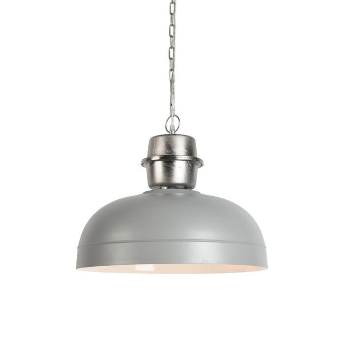 Taklampa-'HL-Sani'-Industriell-grå/metall---Passande-för-LED-/-Inomhus