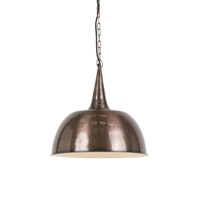 Taklampa-'Loft-'-Industriell-stål---Passar-för-LED-/-Inomhus