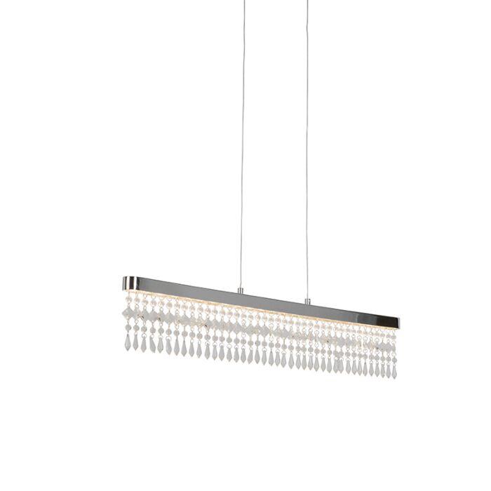 Taklampa-'Ora'-Moderna-krom---LED-inkluderat-/-Inomhus