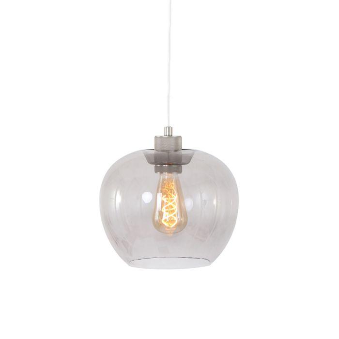 Taklampa-'Lori'-Moderna-stål---Passande-för-LED-/-Inomhus