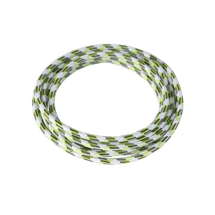 Kabel-'1m'-Nej-vit/tyg