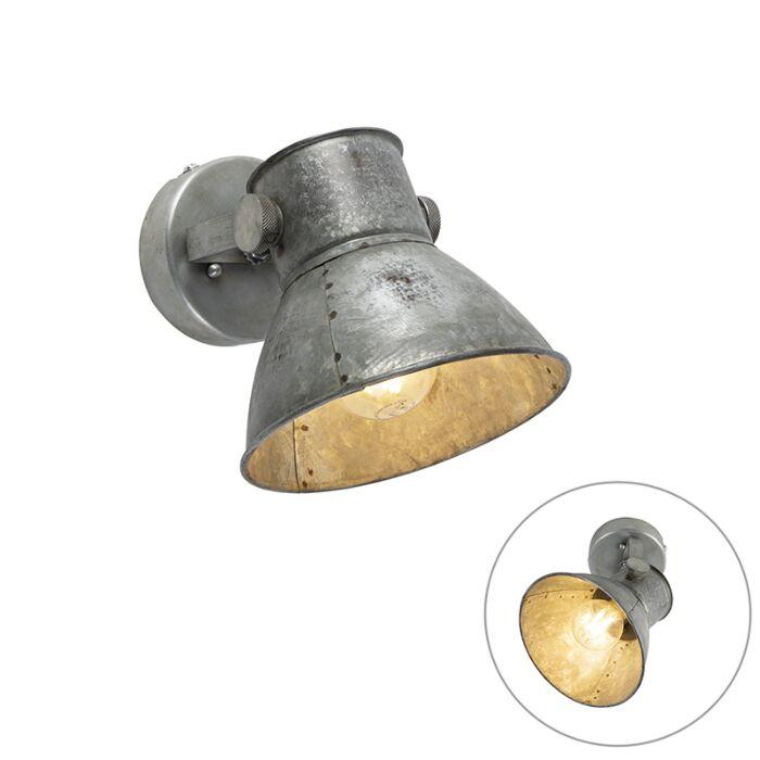 Industriell-Vägglampa-grå---Samia