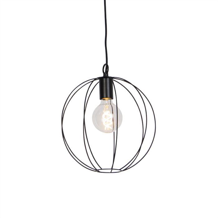 Design-rund-hängande-lampa-svart-30-cm---Pelotas