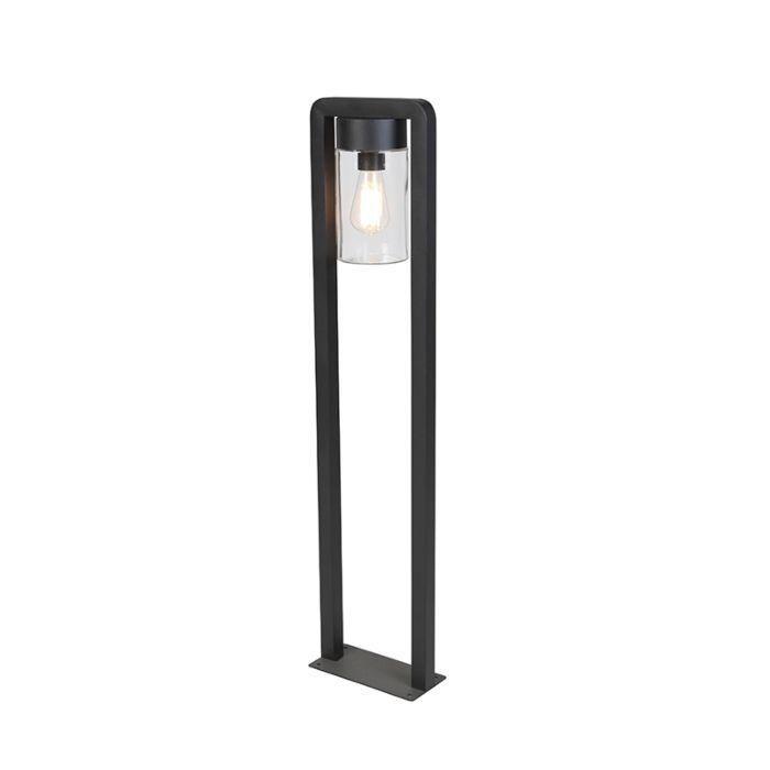 Modern-stående-utomhuslampa-svart-IP44---Jarra-Balanco