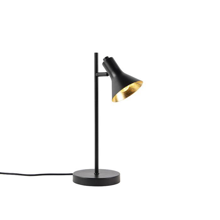 Moderna-bordslampa-svart-med-guld-1-ljus---Magno
