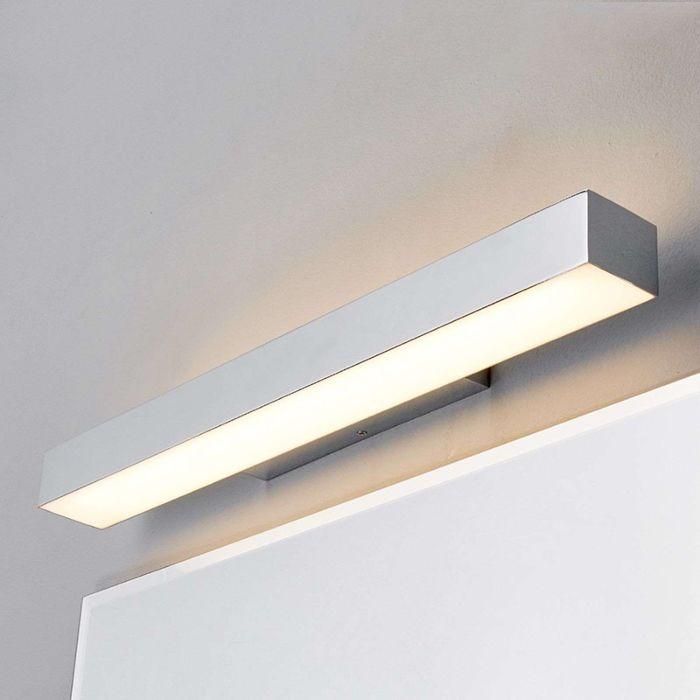 Modern-badrumslampa-krom-60-cm-inkl.-LED-IP44---Kiana