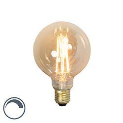 Uppsättning av 3 E14 dimbar glödlampa flimmer flamma 3W 5lm