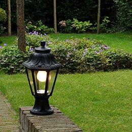 Lamporochljus -Ska du installera trädgårdsbelysning?g
