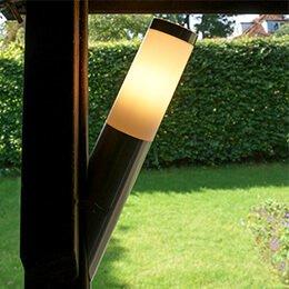 Lamporochljus - Ska du installera solcellslampor eller trädgårdsbelysning