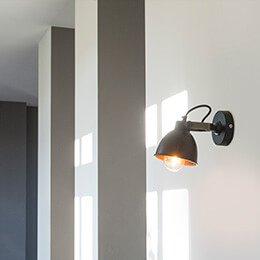 Lamporochljus - Ska du installera en vägglampa